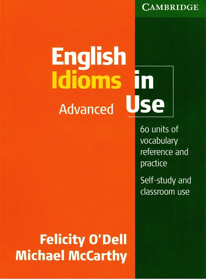 کتاب اصطلاحات انگلیسی پیشرفته