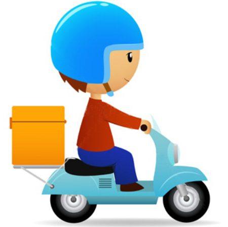 delivery scooter1 450x448 - لیست آژانس ها باربری ها و پیک موتوری های تهران