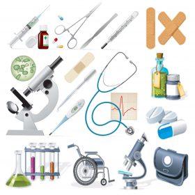 لیست لوازم و تجهیزات پزشکی تهران